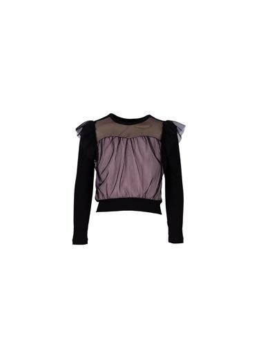 Lia Lea Kız Çocuk Siyah Bluz 20Fwll03506 Siyah